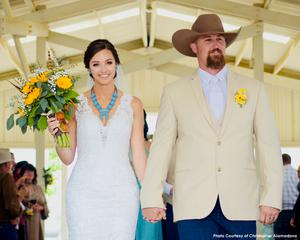 Pole Barn Wedding Image